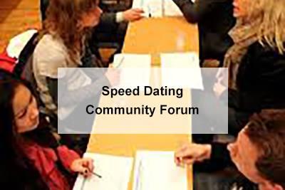Forum speed dating