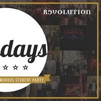 Sundays at Revolution  Varsity Afterparty Special