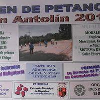 V Open Nacional San Antolin