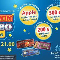 Play Win nagradna igra na igralnih avtomatih  torneo alle slots