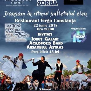 Seara lui Zorba cu Ionu Galani la Restaurant Virgo