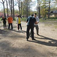 Kung Fu Push Hands Competition Style Meet ( Queens  New York )