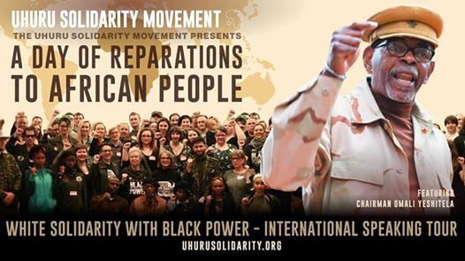 Perth, Australia - Day of Reparations to African People at Uhuru