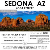 Sedona AZ Yoga Retreat