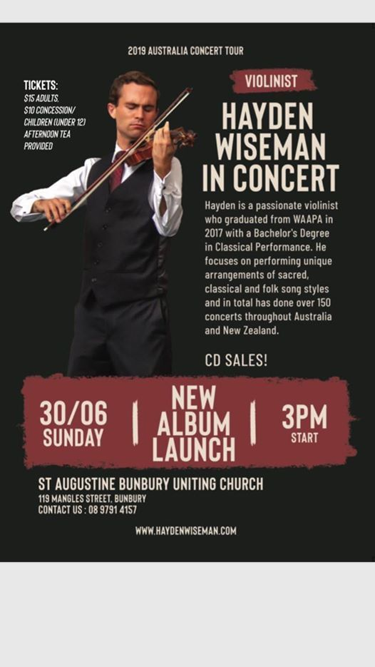 Sacred and Classical Concert at St Augustine's Uniting