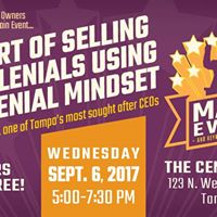 Main Event - The Art Of Selling To Millennials Using A Millennia