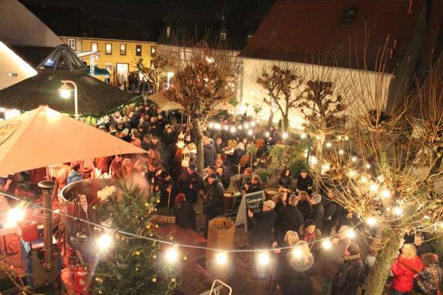 Weihnachtsmarkt Hochheimer Terrasse Hochheim Am Main