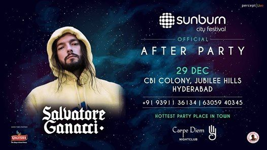 Sunburn City Festival After Party with Salvatore Ganacci