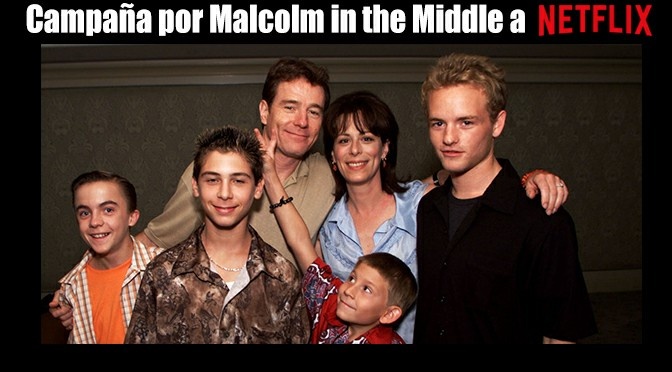 marcha para que netflix agregué a malcolm in the middle at la