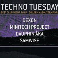 Techno Tuesday Amsterdam 17 January 2017