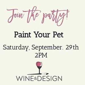 Paint Your Pet At Wine Design Winston Salem Nc Carolina
