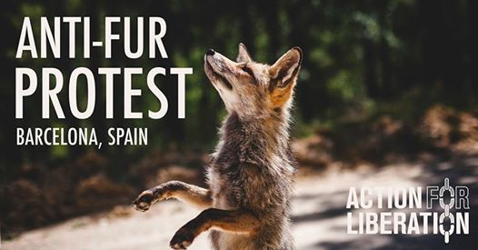 Anti-fur Protest Barcelona 8