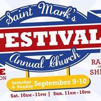 St. Marks Annual Festival