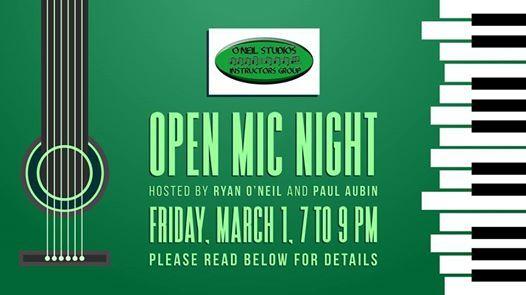ONeil Studios Open Mic Night