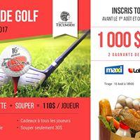 Tournoi de golf La Drave