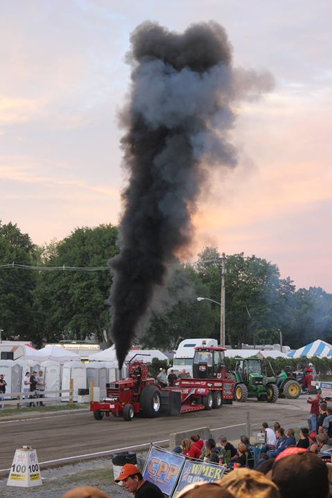Full Pull Productions Truck & Tractor Pulls at Clearfield