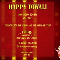 Diwali and Welcome Event )