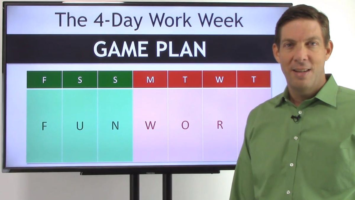 How to Create Your 4-Day Work Week Game Plan