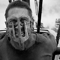 Mad Max Fury Road Black and Chrome