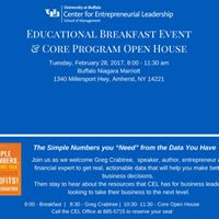 Educational Breakfast Event &amp Core Program Open House