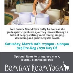Crystal singing bowl events in the City  Top Upcoming Events for