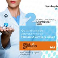 2. forum izvrsnosti u ljekarnikoj skrbi Farmaceut na usluzi