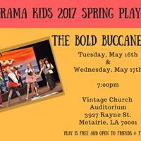 Drama Kids NOLA Spring Performance - The Bold Buccaneers