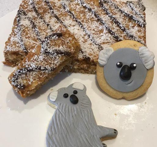 Anzac Slice & Koala Cookies Cooking Class Geelong