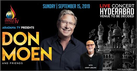 DON MOEN (Live in Hyderabad)