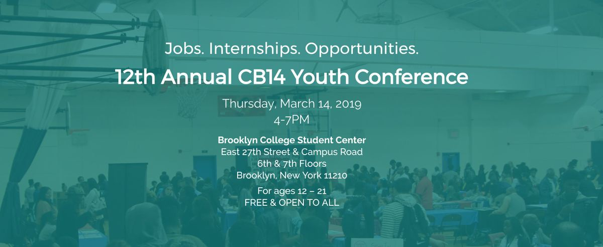 12th Annual CB14 Youth Conference