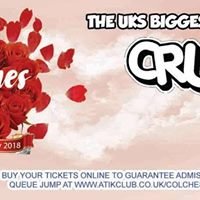 Crush Under 18s Valentines Rave at Atik Colchester