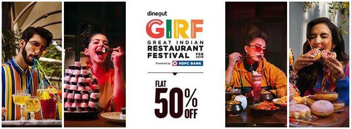 Dineout Great Indian Restaurant Festival - Mumbai