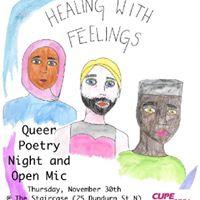 Healing With Feelings Queer Poetry Night