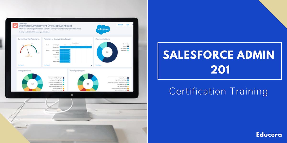 Salesforce Admin 201 Certification Training in Providence RI