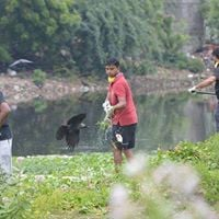 EFIs Voluntary Lake clean up activity at Perumbakkam