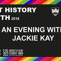 An Evening with Jackie Kay