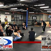 CrossFit CR10 Olympic WL presented by Kll Cliff