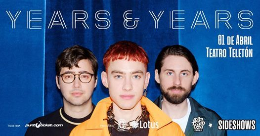 Sideshow LollaCL Years & Years