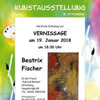 Erffnung Vernissage Beatrix Fischer