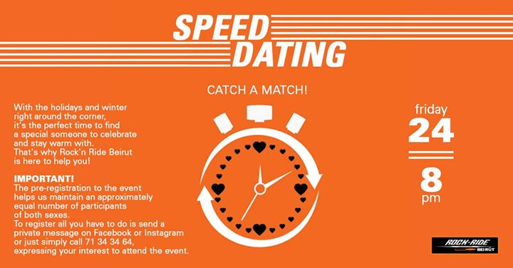 Beirut speed dating