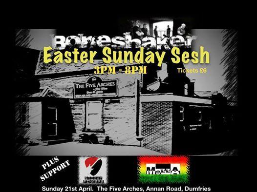 Boneshaker and Friends Easter Sunday Sesh