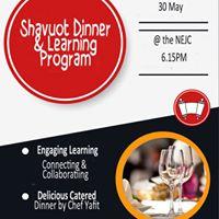 Shavuot Dinner &amp Learning