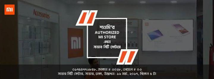 Authorized Mi Store Opening at SAVAR, DHAKA | Dhaka