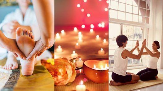 Valentines Partner Yoga & Thai Massage