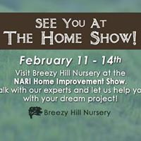 Breezy Hill Nursery at the NARI Home Improvement Show