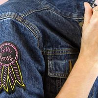 Make an Embroidered Patch