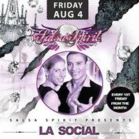 Salsa Spirit presents La Social with Free Workshop