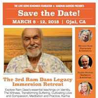 Ojai CA Ram Dass Legacy Immersion Retreat