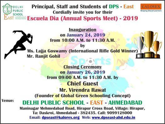 Escuela Dia - Annual Sports Meet - 2019
