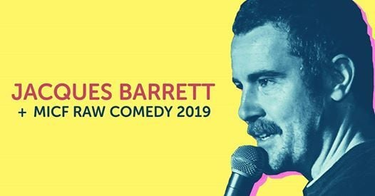 Jacques Barrett  RAW Comedy Alice Springs Heat